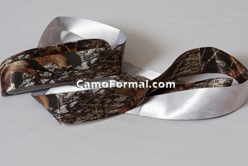 Camo Satin Ribbon