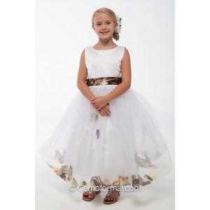 5602 quotmadisonquot petal flowergirl dress camouflage prom