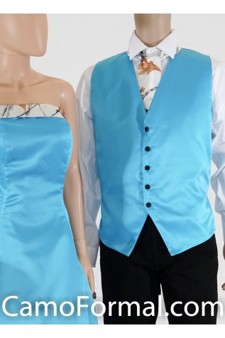 Men's Vest and Bow Tie