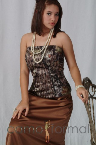 Strapless Top shown in Mossy Oak New Breakup