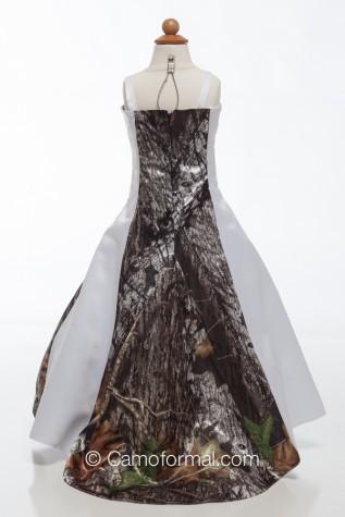Back: 3132fg Flower-girl or Miniature Bride Dress
