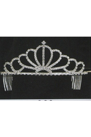 y 363 Tiara with 2 Side Combs
