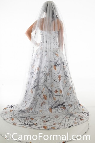 "Back: 8072 ""Elsa"" True Timber Snowfall Glitter Net Frozen"