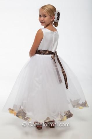 """5602 """"Madison"""" Petal Flower-girl Dress"""