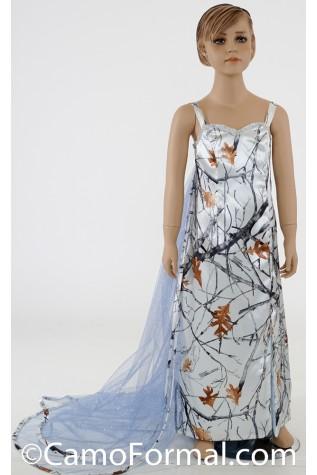 "8072 ""Ella"" girls Frozen Princess Dress"