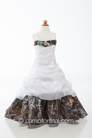 8135fg Flower-girl or Miniature Bride Dress