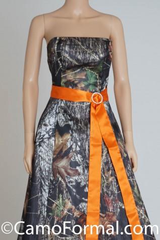 Hunter's Orange 2x90 Sash with add-on item CIRCLE BUCKLE