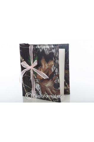 Camo Covered Photo Album