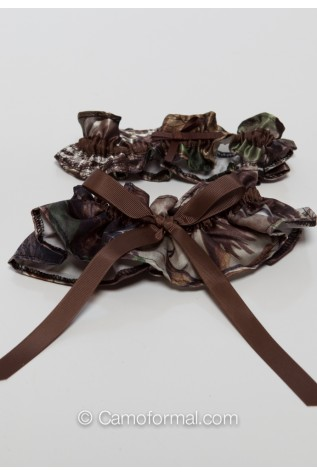 Camo Wedding Garter Set