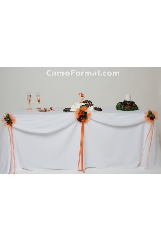 Camo reception table kit