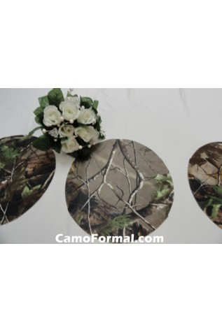 Decoration mat for reception table centerpieces