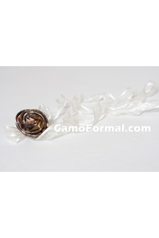 Large Rose Hair Barrette