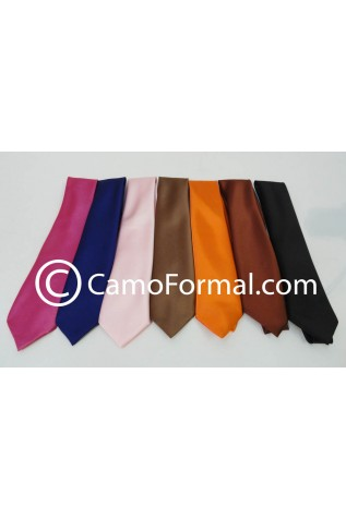 Men's Long Tie available in many colors