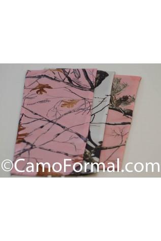 Pink Snowfall TT,  WINTER Breakup Mossy Oak, APPINK Modesty Pieces