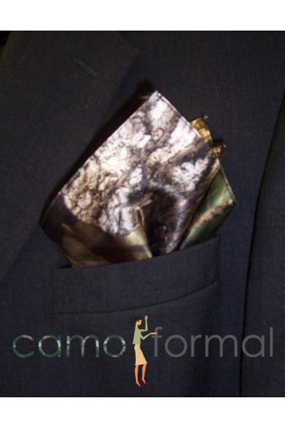 Men's Camo Pocket Square