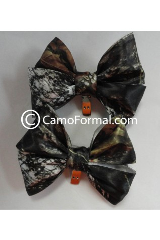 Camo Shoe Clips, Set of 2