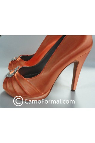 Gianna Shoe dyed Hunter's Orange