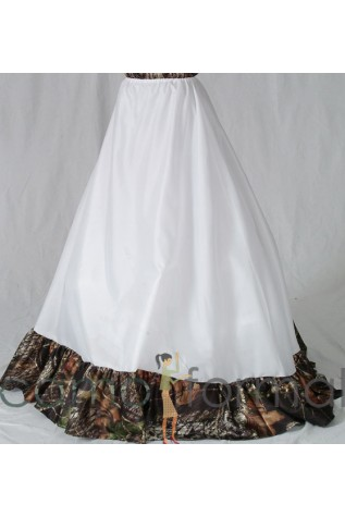 x 112 Drawstring Slip, Extra Full with Camo Accent