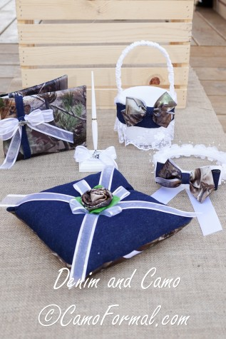 5 pc collection:  Guest Book, Guest Pen, Flower Girl Basket, Flower Girl Weath and Ring-bearer Pillow