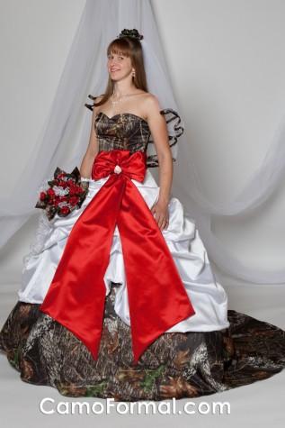 "* 3065 ""Scarlett"" Pickup Wedding Gown"