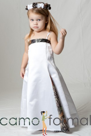 Child Mini Bride to Match Bridal #3598