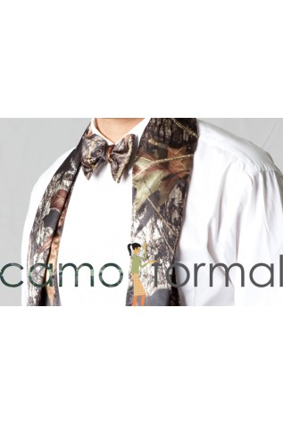 Men's Coat Scarf, Mossy Oak camo