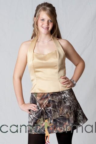 Mossy Oak Short Skirt
