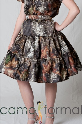 Mossy Oak Camo Square Dancing Skirt