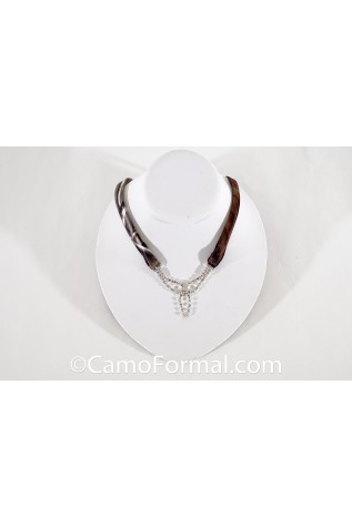 Mossy Oak Tie Back Necklace  #0309