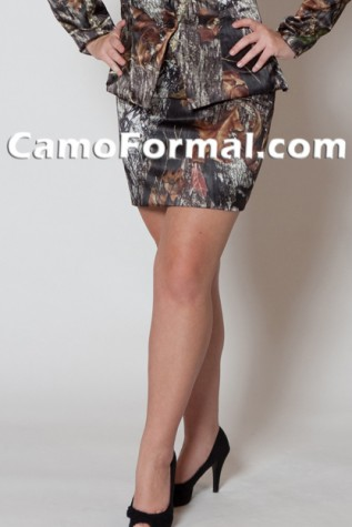 "Camo Short Skirt, Available 20"", 25"" 34"""