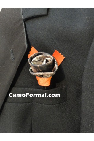 Camo Pocket Pen (doubles as a boutonniere)