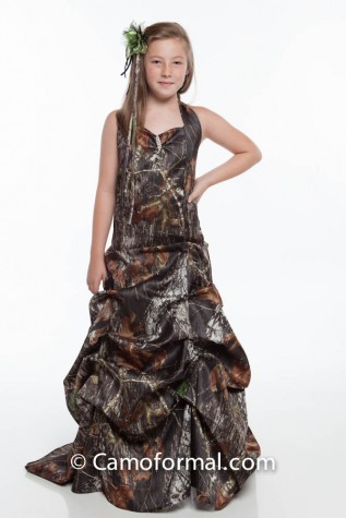 3042 pre-teen and child flowergirl pickup dress