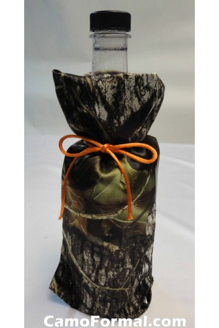 Camo Cover Sized for Wine or Liquor Bottle (bottle not included)