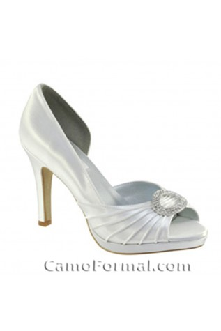 """Halle"" Shoe 3 1/4"" heel - Shoe clips optional"