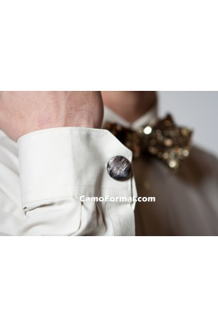 Camo Cuff Link in Mossy Oak