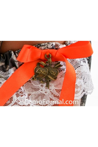 Garter with LOVE YOU CHARM