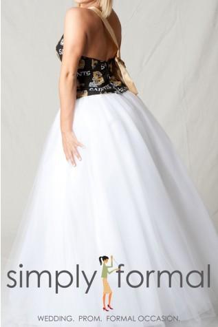 White Tulle Skirt Only