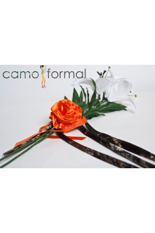 Camo Stems with Orange