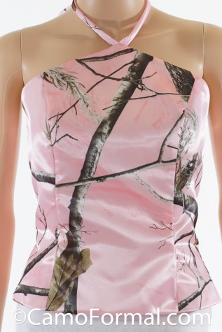 "Inverted ""V"" Camo Top shown in Realtree AP PINK"