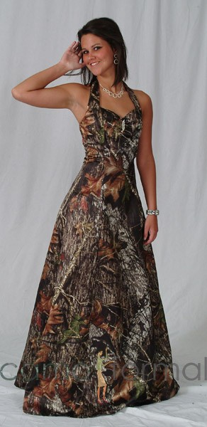 3049 Camo Prom Formal or Wedding Dress Camouflage Prom Wedding ...