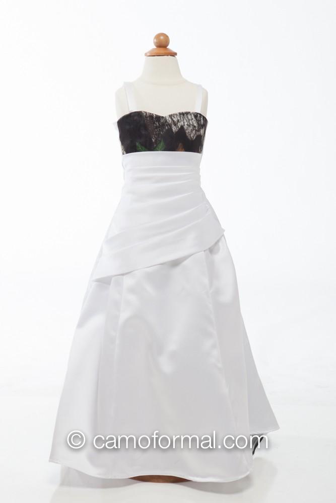 fg 3132 quotcarolinequot miniature bridal gown camouflage prom