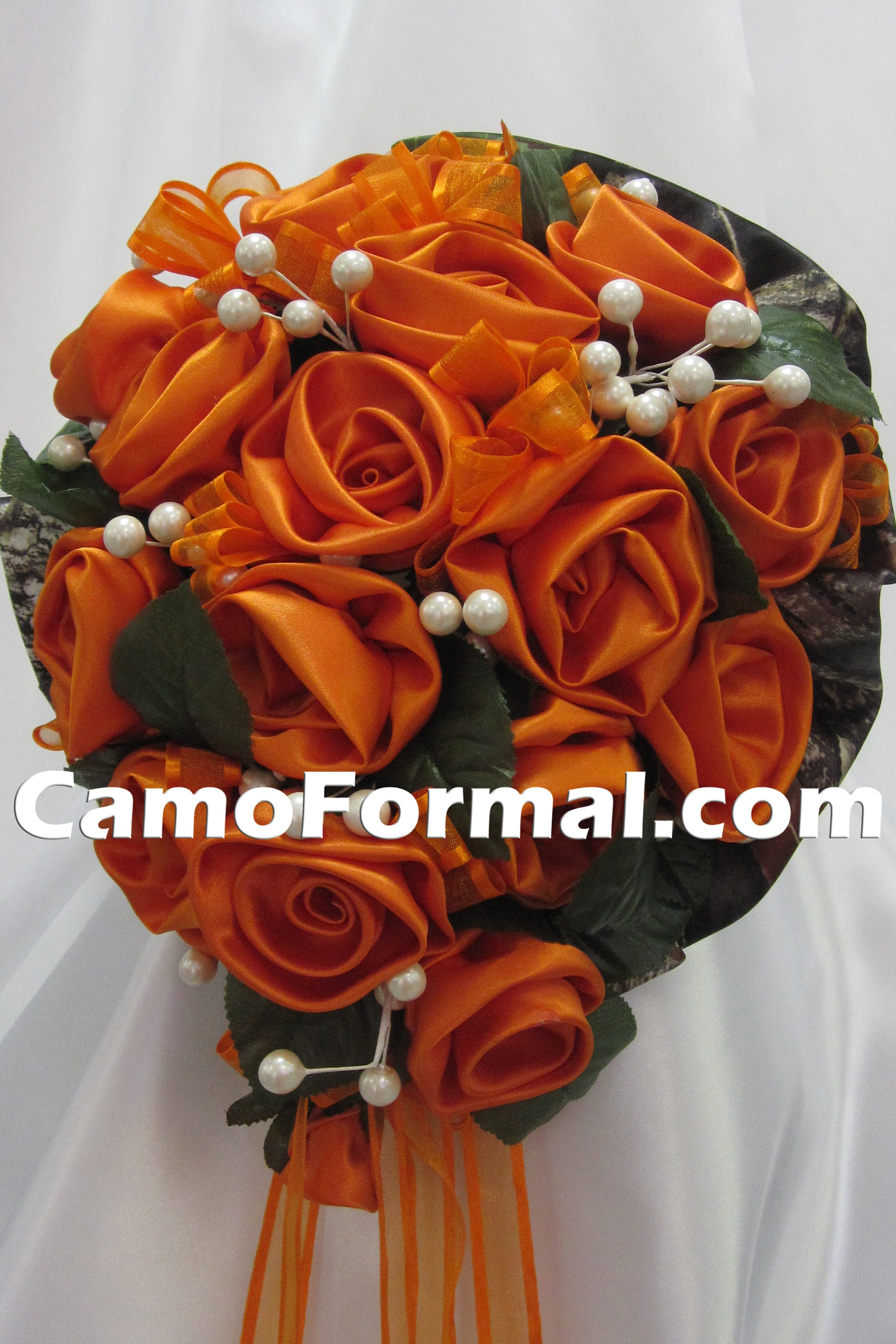 Camo Bridal Bouquet Camouflage Prom Wedding Home ing Formals