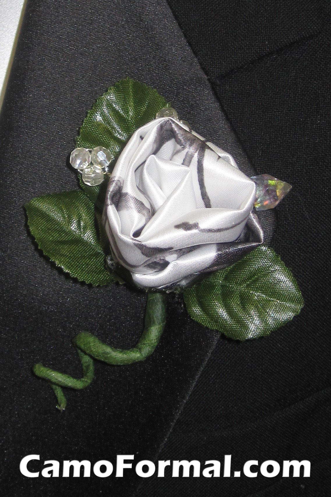 camo boutonniere camouflage prom wedding homecoming formals
