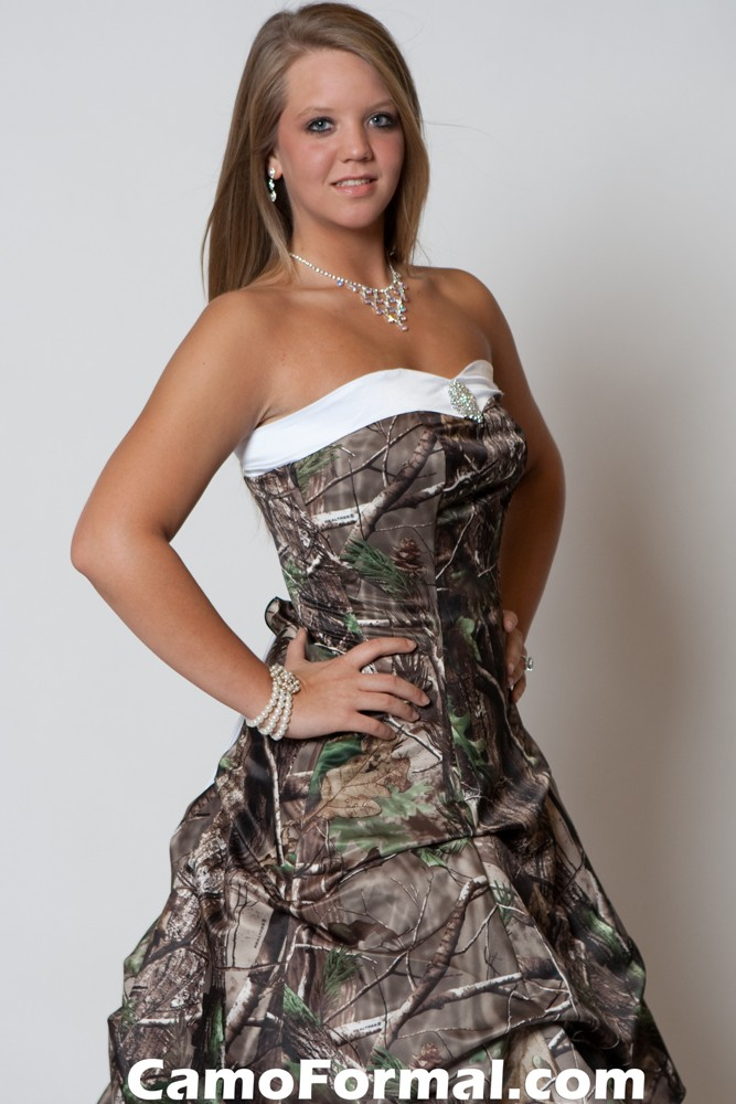3011 Mossy Oak Camouflage Prom Wedding Homecoming Formals