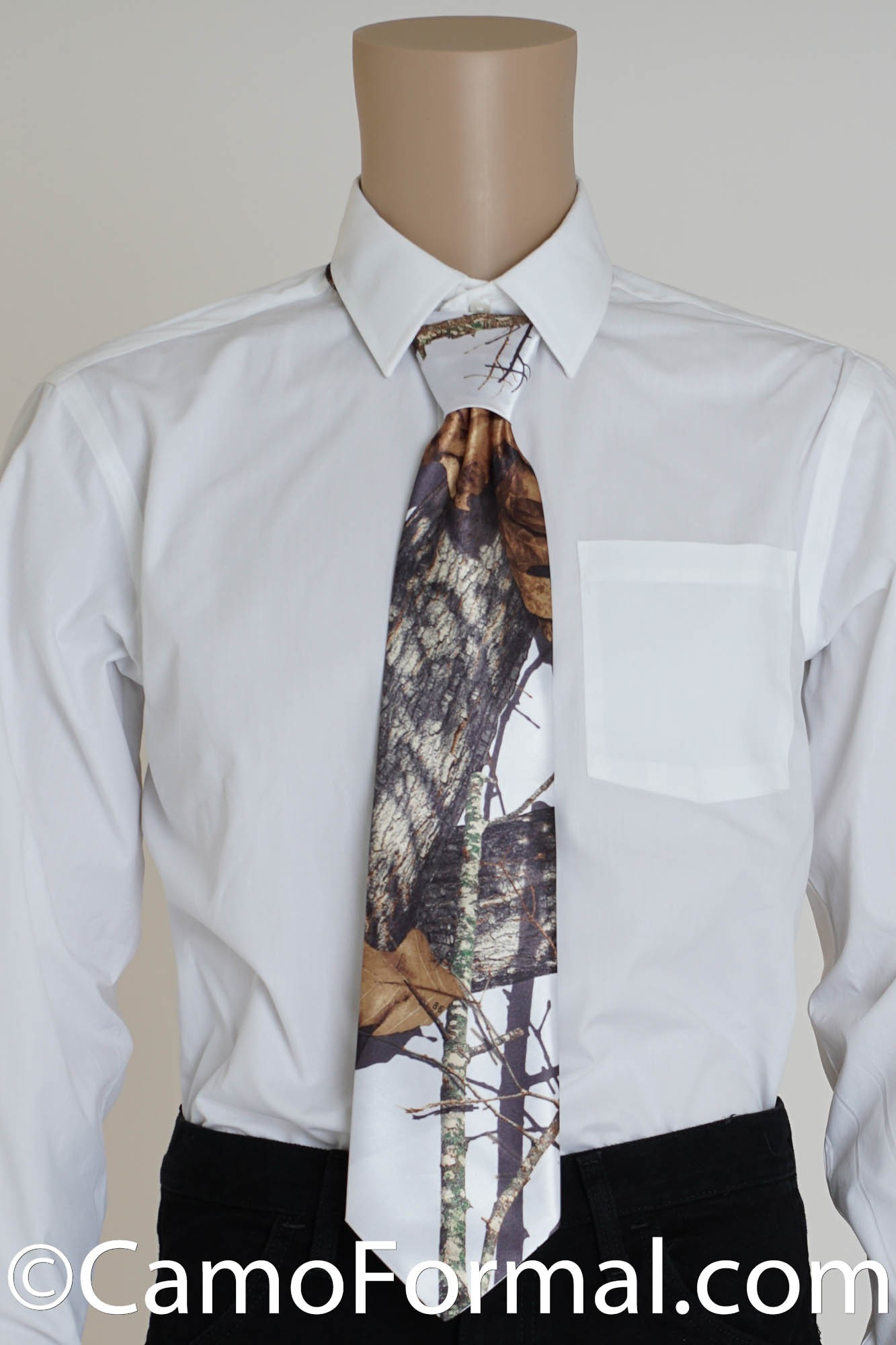 mens camouflage tie camouflage prom wedding homecoming