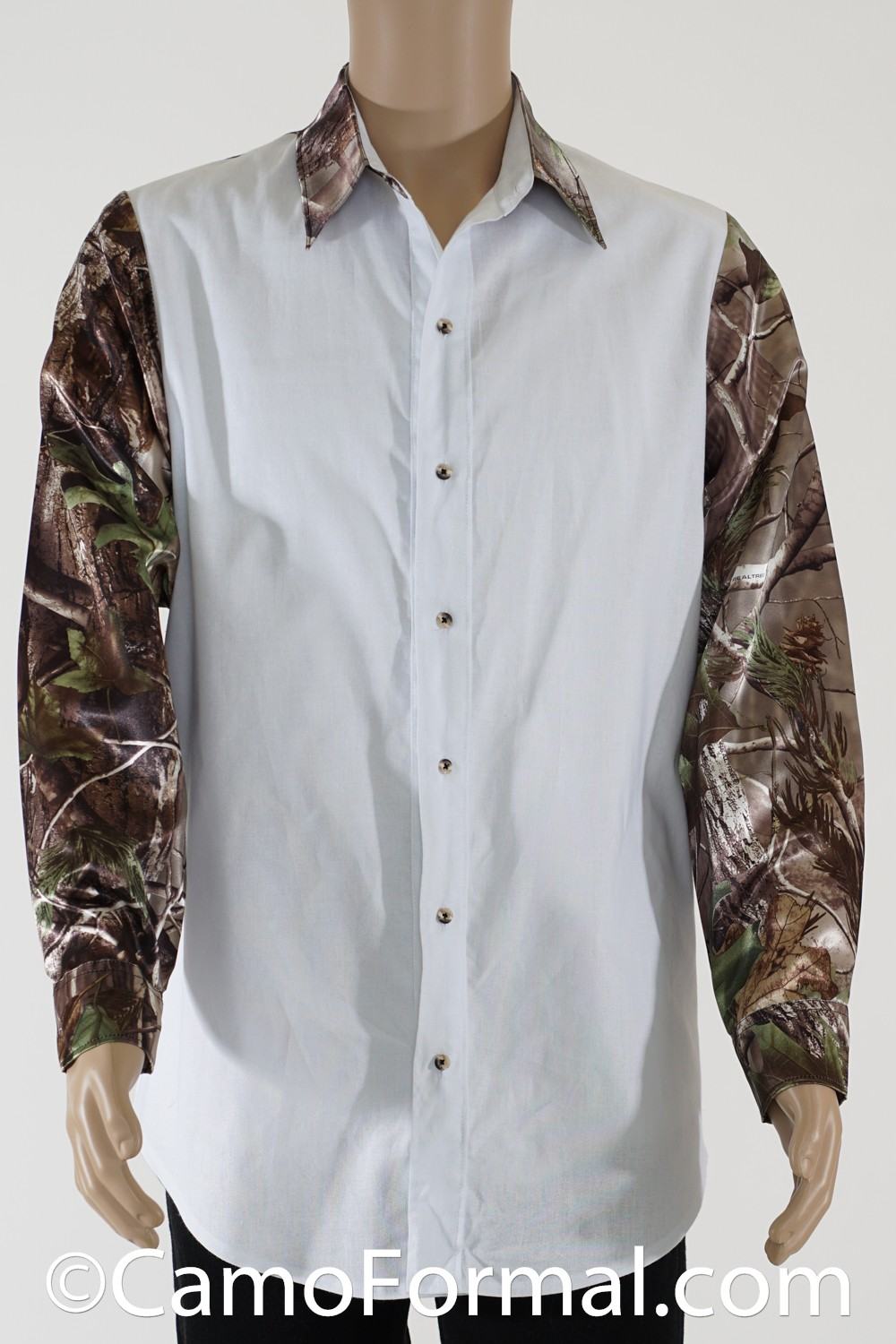 Whether you are looking for a traditional wedding dress or thinking about a unique look with one of our camo accented styles, A TOUCH OF CAMO offers you custom, individualized, high quality, low price wedding gowns and formalwear options that rival most major wedding gown manufacturers.