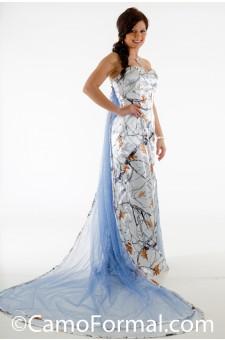 "* 8072 ""Elsa"" Frozen Camo Princess Dress"