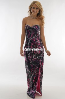 8073 V Rhinestone Muddy Girl Long