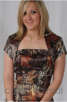 "Jacket ""Camo"" Bolero Shrug Short Sleeves"