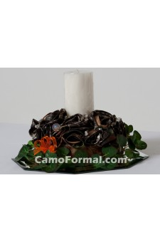 *Camo Candle Centerpiece